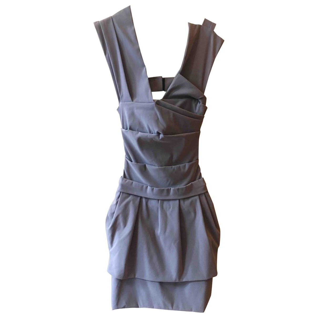 Preen By Thornton Bregazzi \N Grey Cotton dress for Women 6 UK