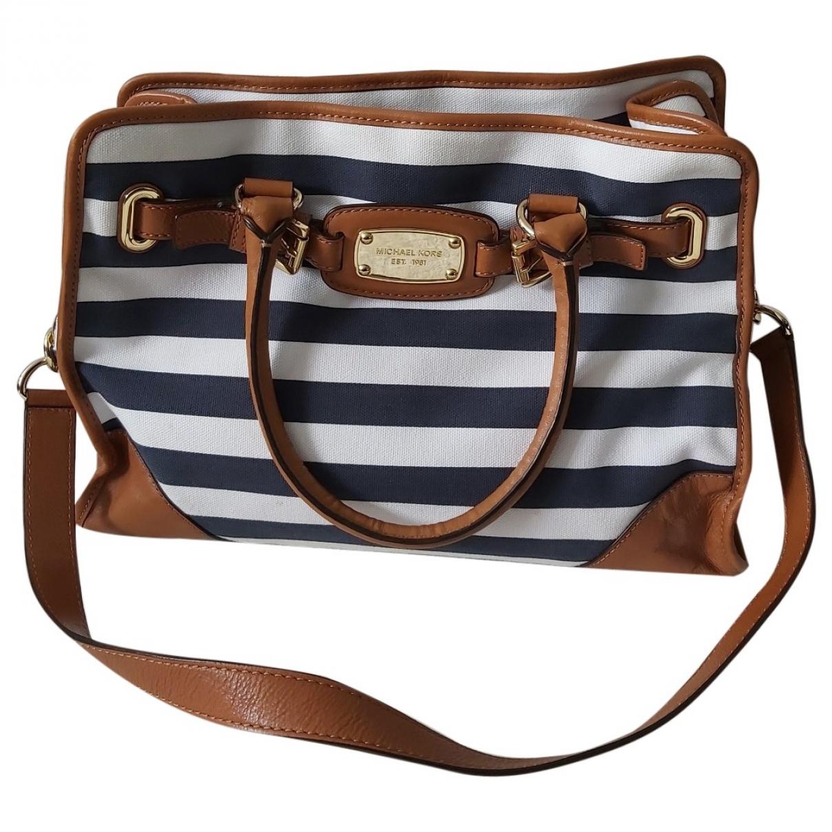 Michael Kors \N Camel Cotton handbag for Women \N