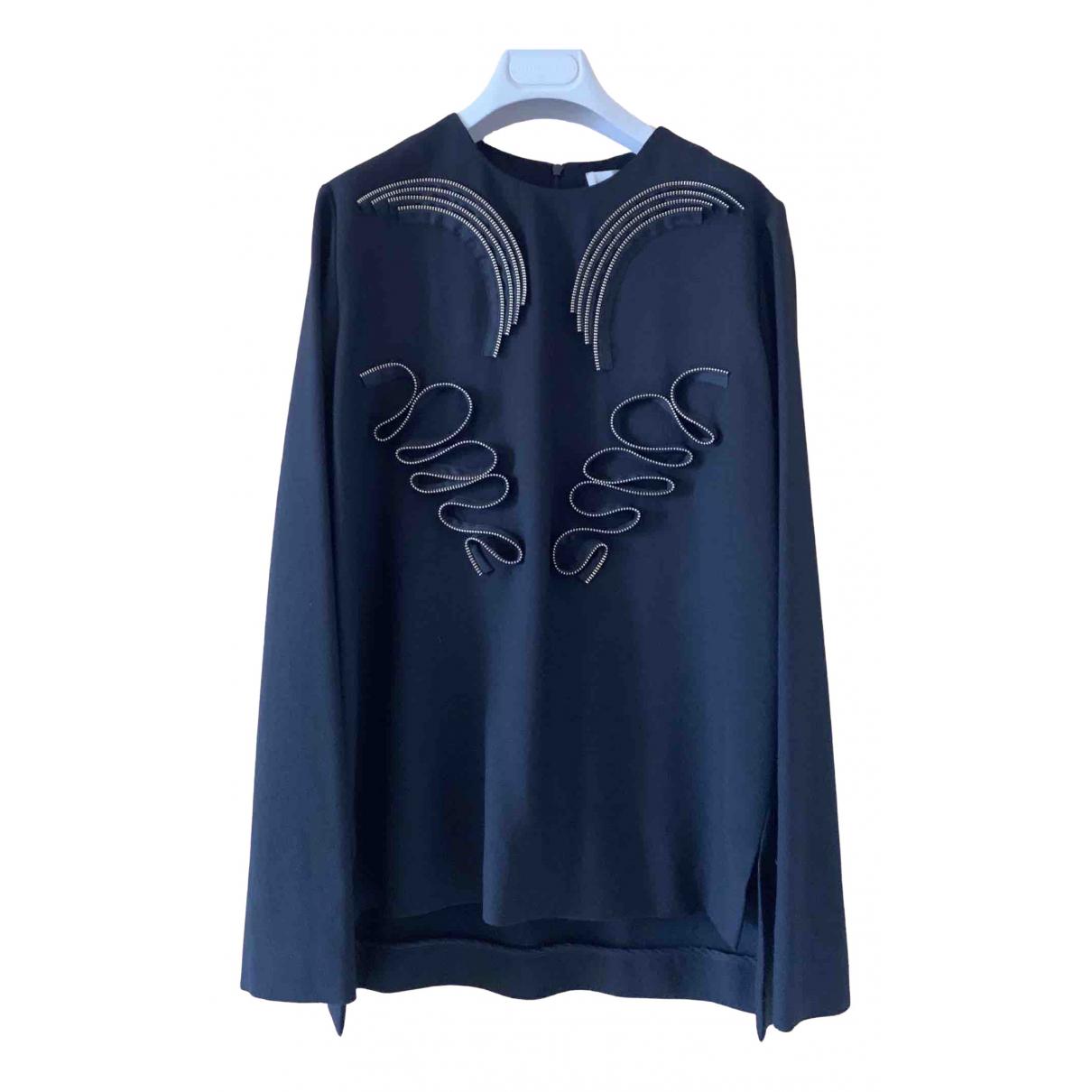 Stella Mccartney N Black Wool  top for Women 40 IT