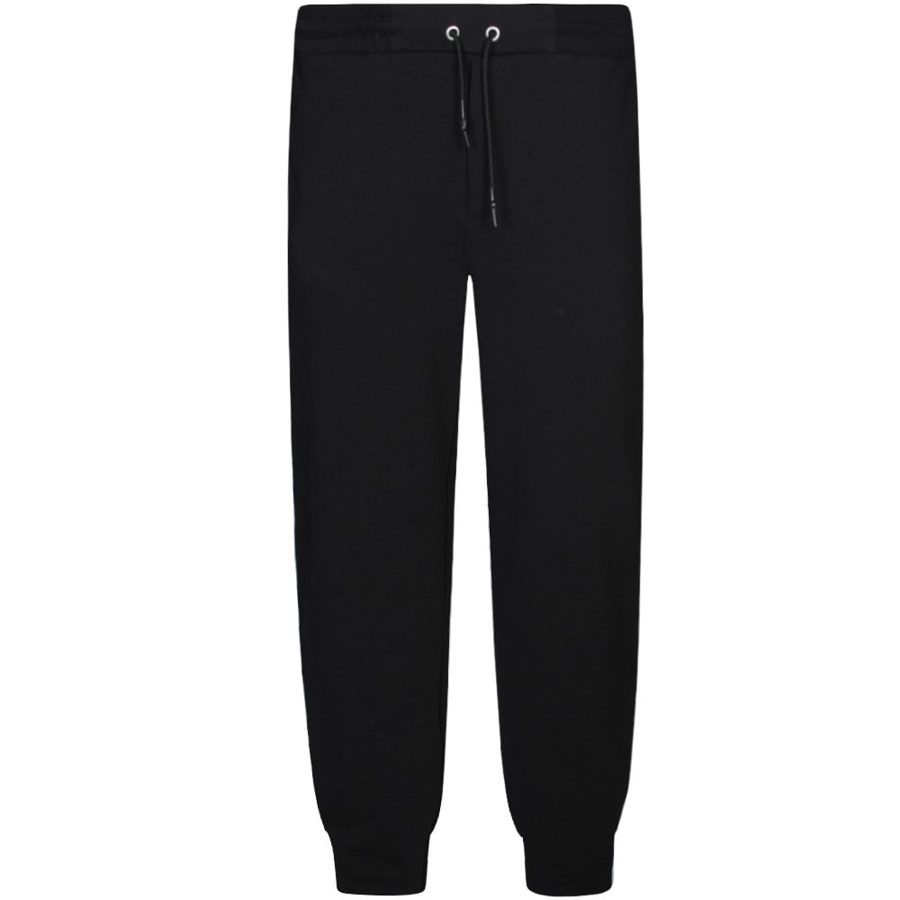 McQ Alexander McQueen Side Panel Logo Joggers Black Colour: BLACK, Size: LARGE