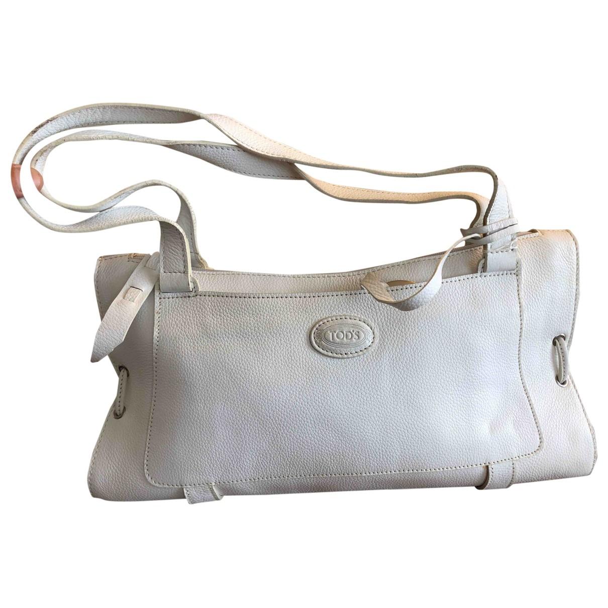Tod's \N White Leather handbag for Women \N