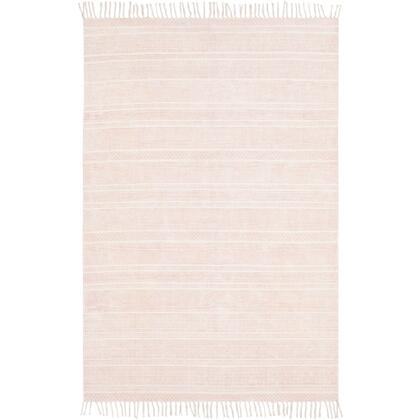 July JUY-2301 8' x 10' Rectangle Global Rug in Coral