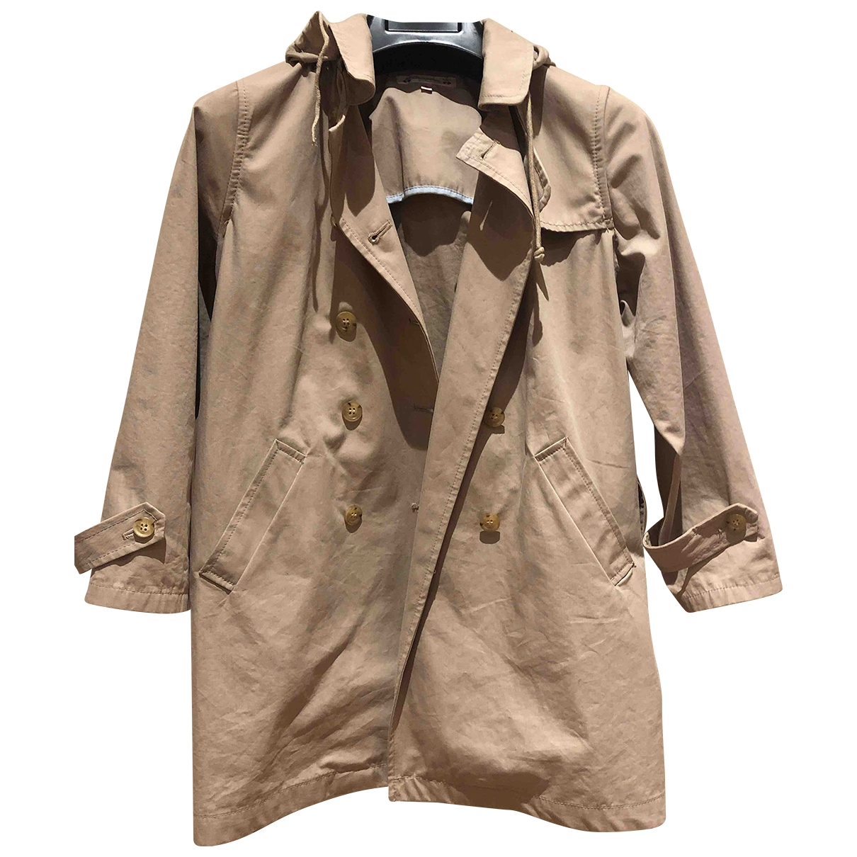 Bonpoint \N Beige Cotton jacket & coat for Kids 8 years - up to 128cm FR