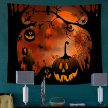 Halloween Pattern Tapestry