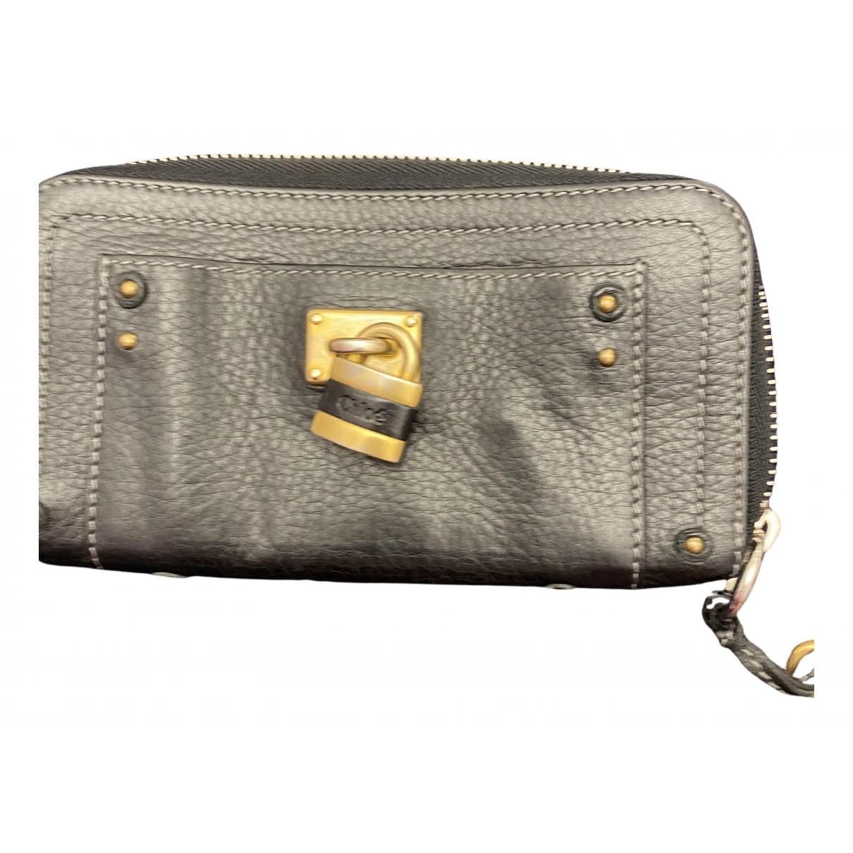 Chloé Marcie Black Leather wallet for Women N