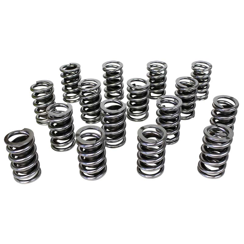 Electro Polished Performance Single with Damper Valve Springs; 1.437 Howards Cams 98415 98415
