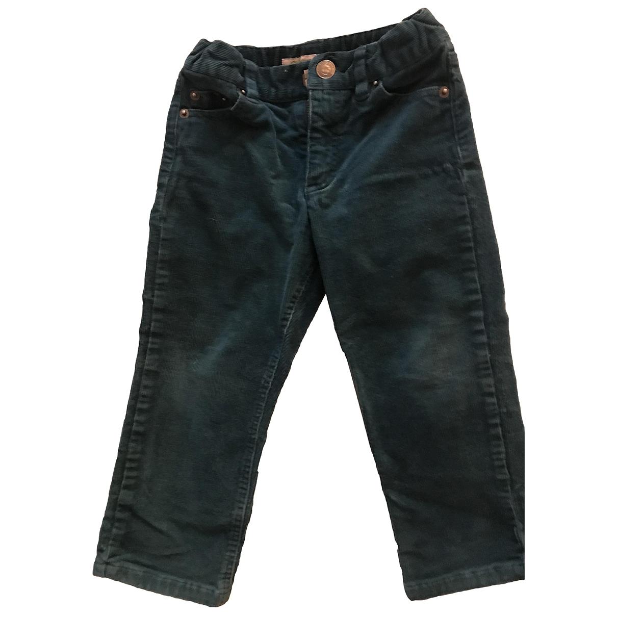 Bonpoint \N Green Velvet Trousers for Kids 18 months - up to 81cm FR