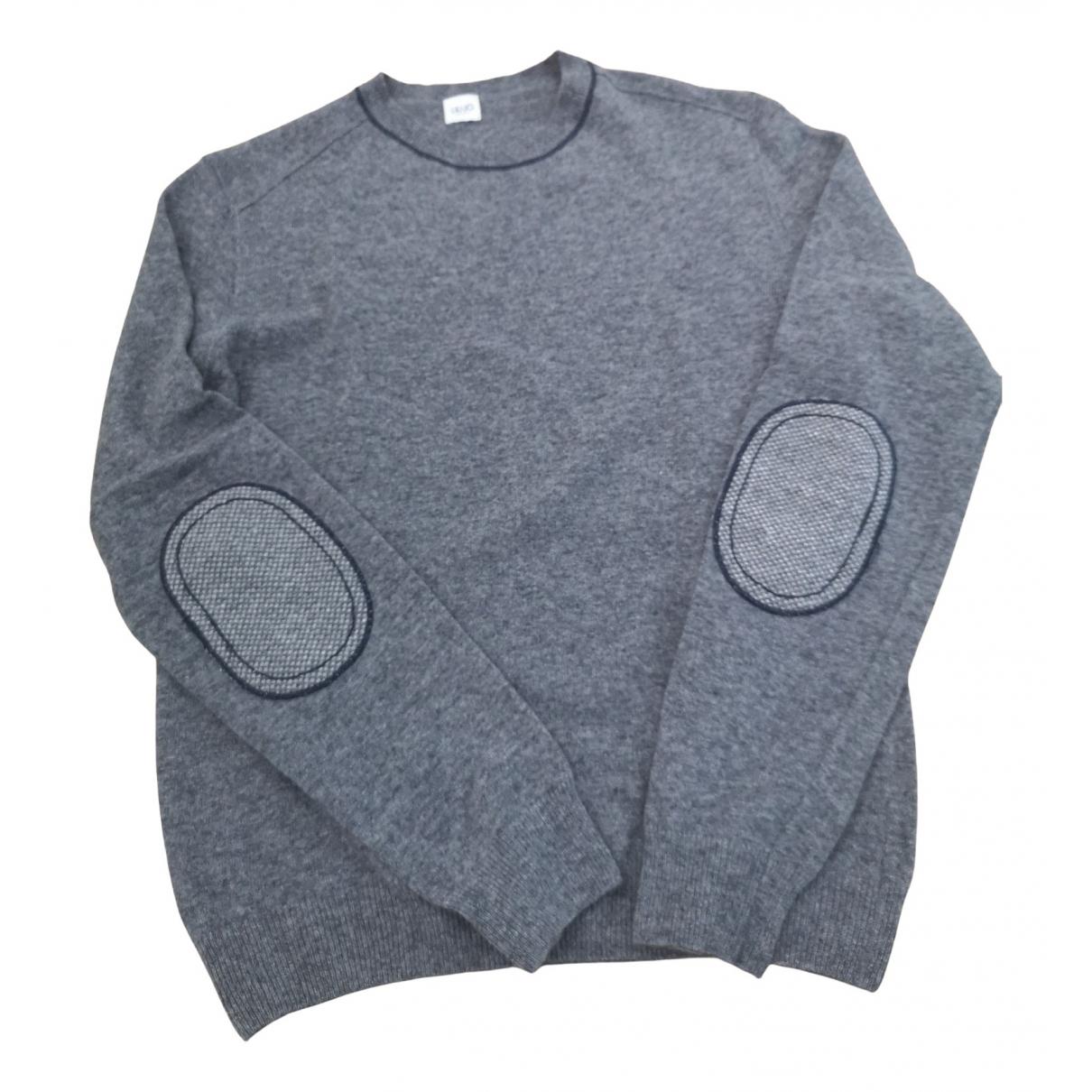 Liu.jo \N Pullover.Westen.Sweatshirts  in  Grau Wolle