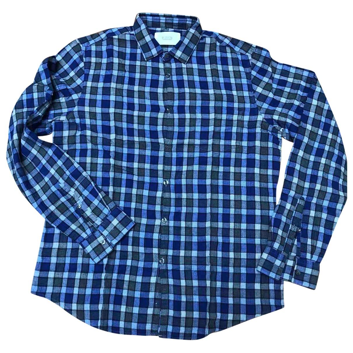 Mauro Grifoni \N Hemden in  Blau Baumwolle