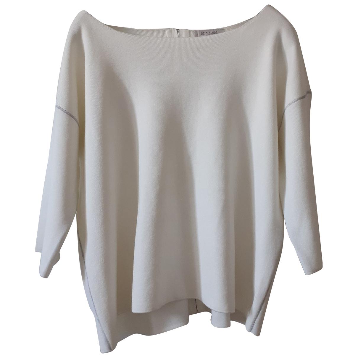 Autre Marque N White Cotton  top for Women L International