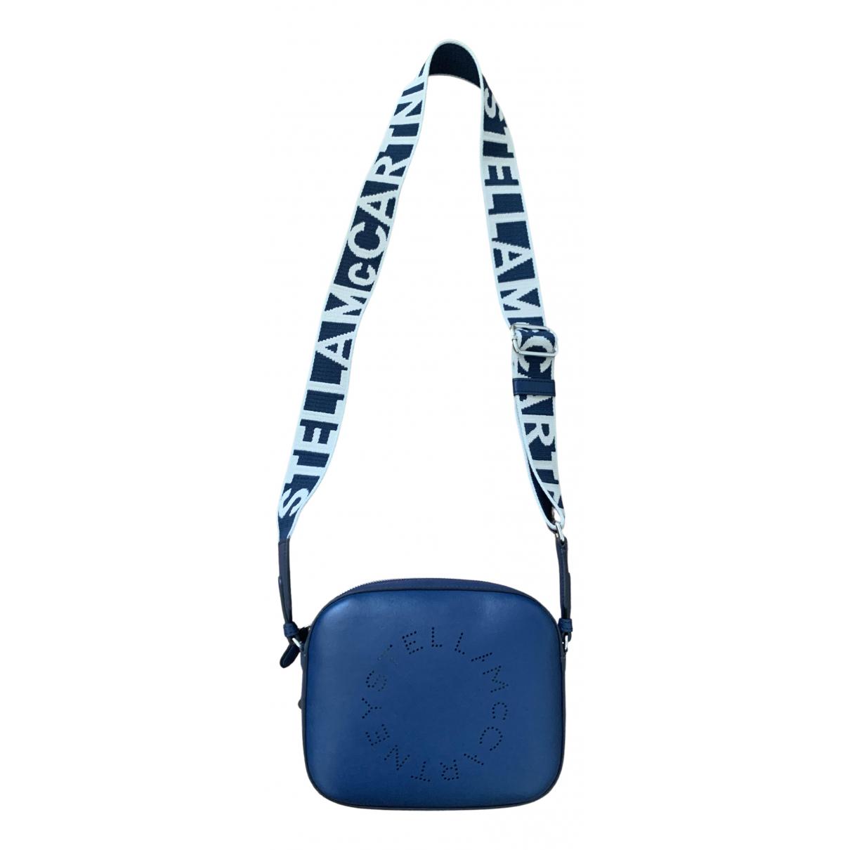 Stella Mccartney \N Handtasche in  Marine Polyester