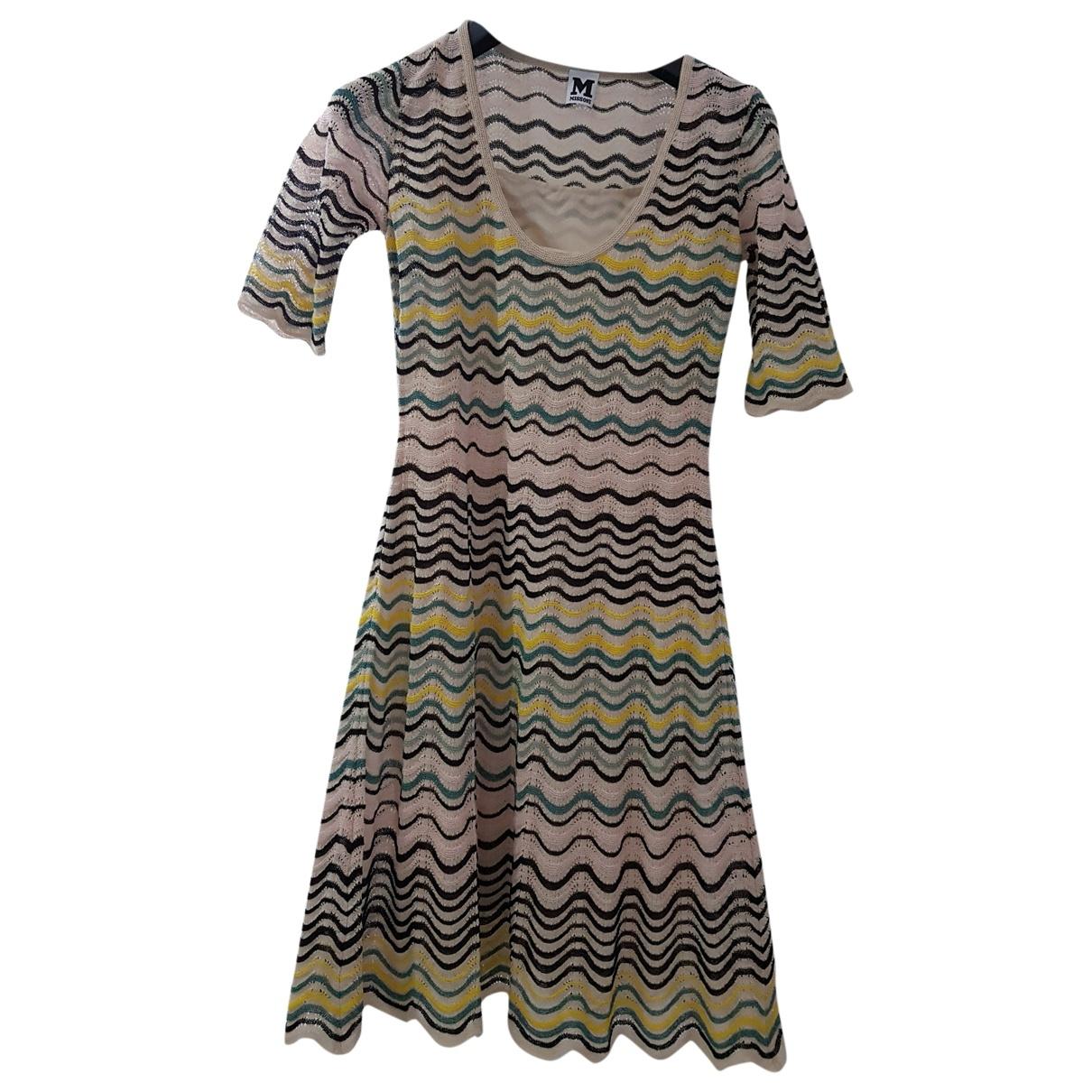 M Missoni \N Beige Cotton dress for Women 40 IT