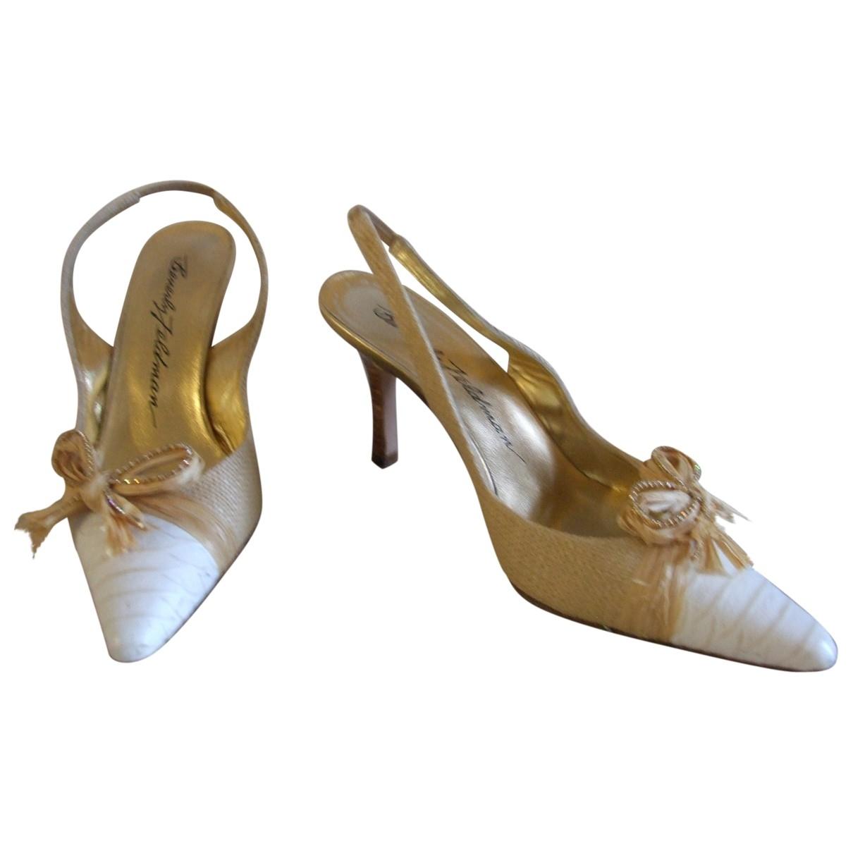 Sandalias romanas de Cuero Non Signe / Unsigned