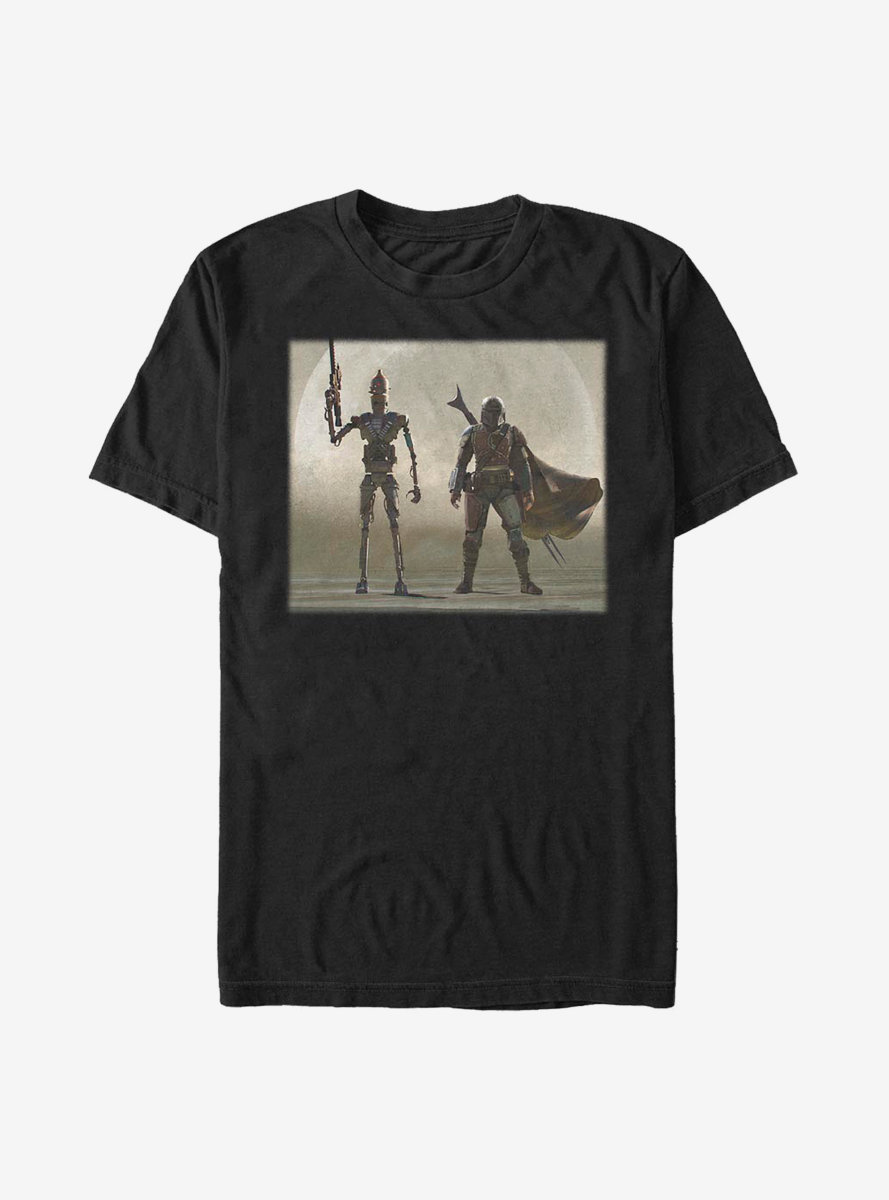 Star Wars The Mandalorian The Child Mando Duo T-Shirt