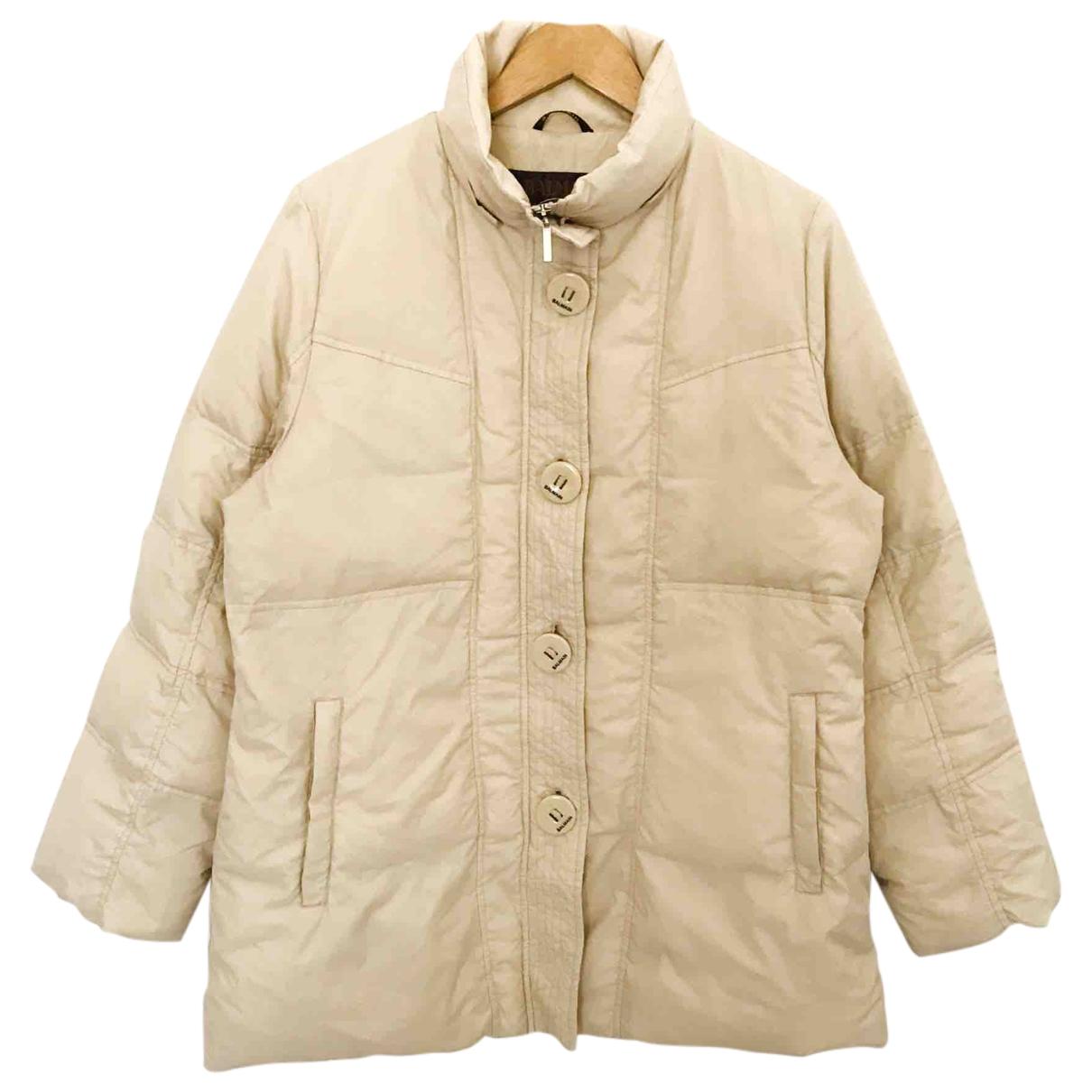 Balmain - Manteau   pour homme - ecru