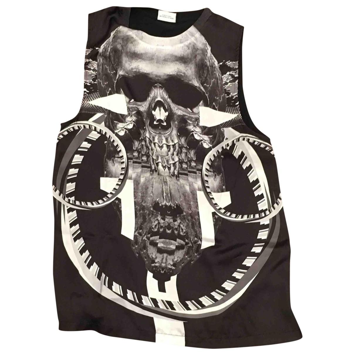 Marcelo Burlon \N T-Shirts in  Schwarz Synthetik