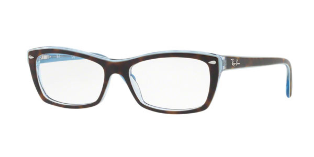 Ray-Ban RX5255 Highstreet 5023 Women's Glasses Tortoise Size 51 - HSA/FSA Insurance - Blue Light Block Available