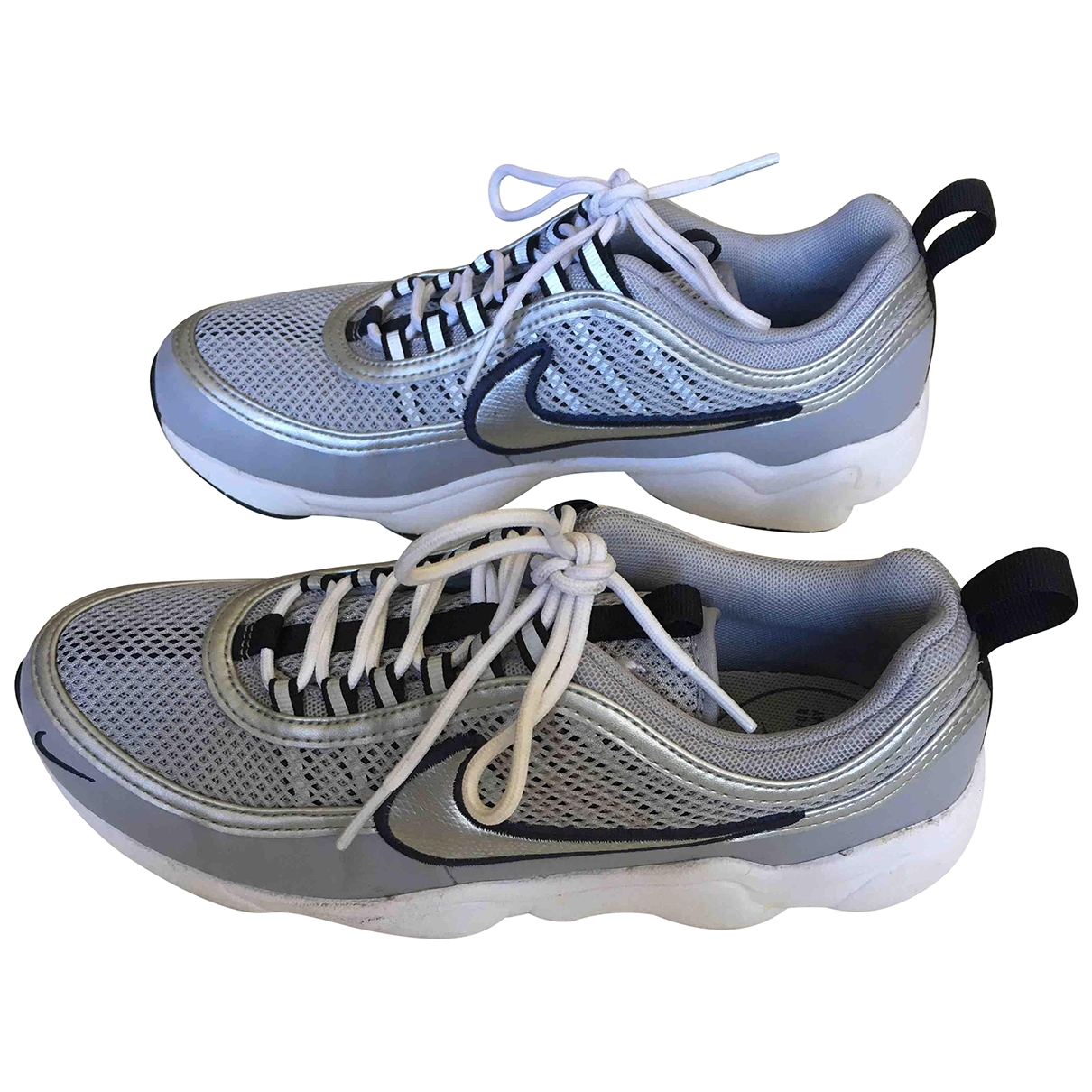 Nike - Baskets Air Zoom Spiridon pour femme en toile - gris