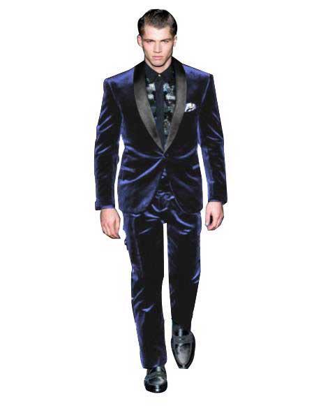 Alberto Narodni Mens Velvet Tuxedo Cocktail & Vevet Pants