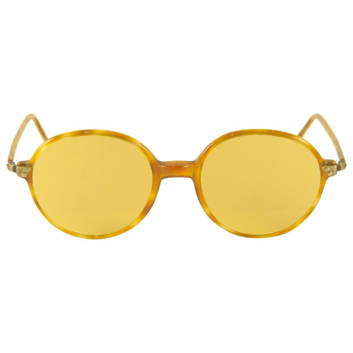 Giorgio Armani \N Camel Metal Sunglasses for Women \N
