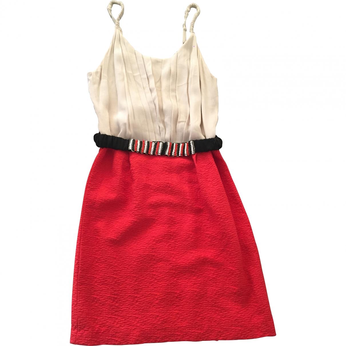 Sandro \N Ecru dress for Women 1 0-5