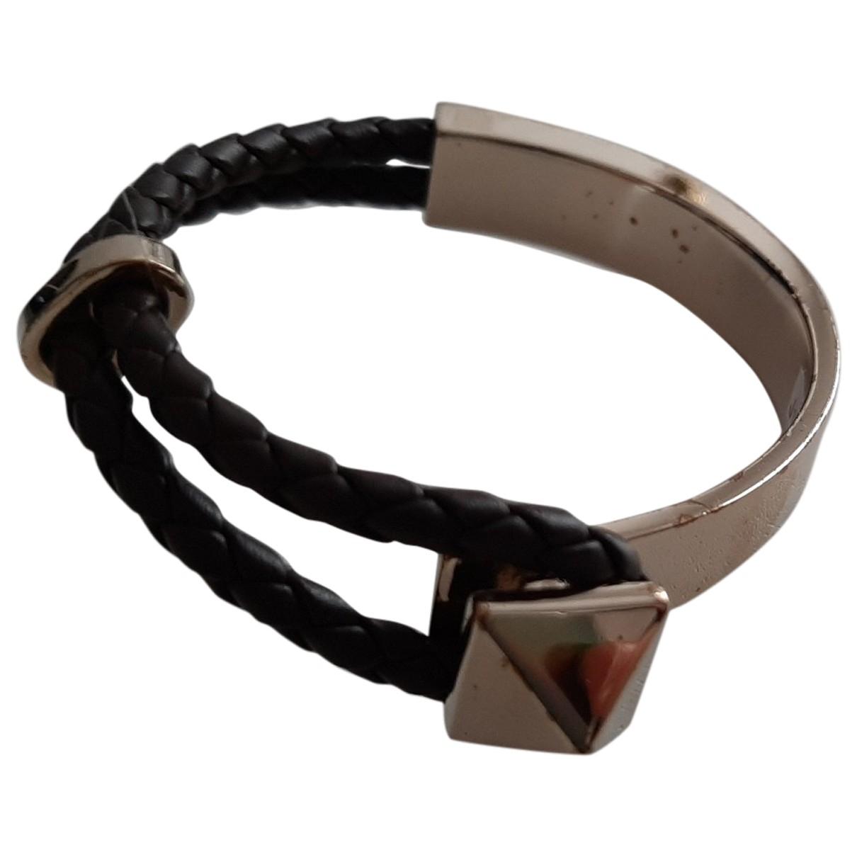 Valentino Garavani - Bracelet   pour femme en cuir - marron