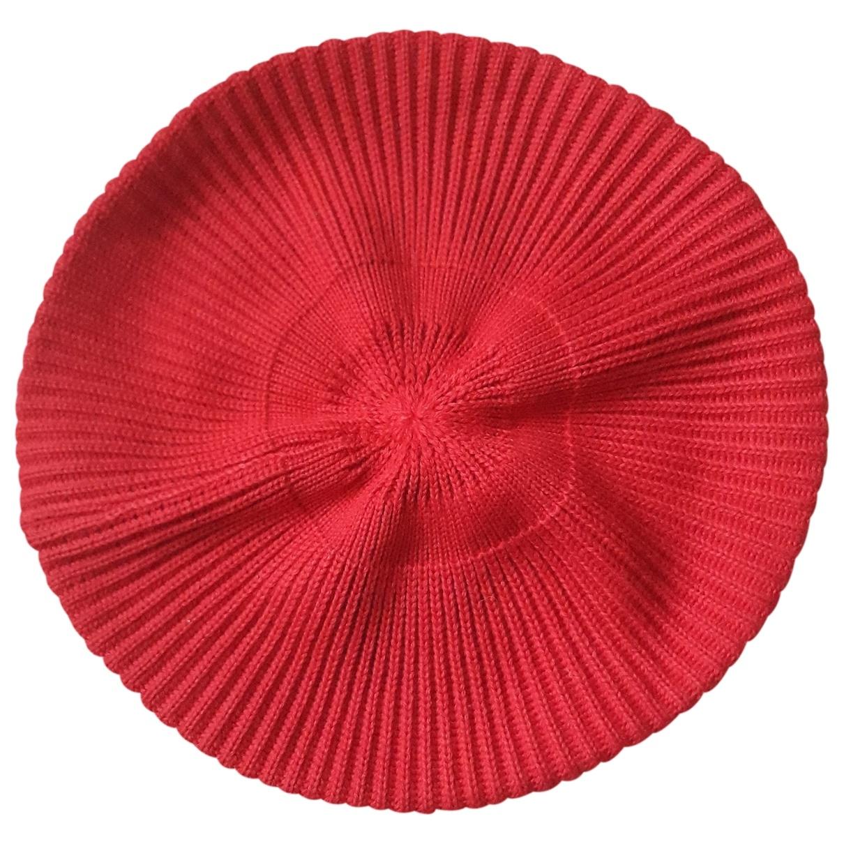 Max & Co - Chapeau   pour femme en laine - rouge