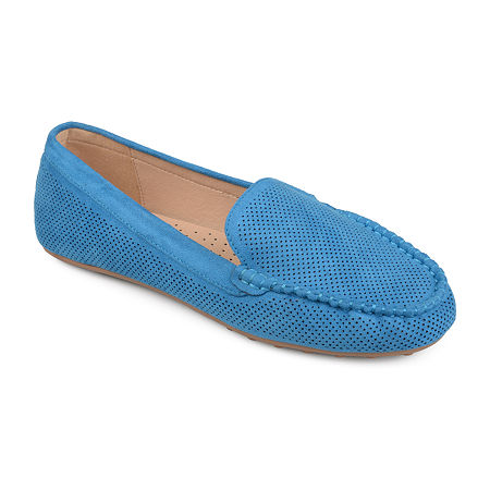 Journee Collection Womens Halsey Loafers, 7 Medium, Blue