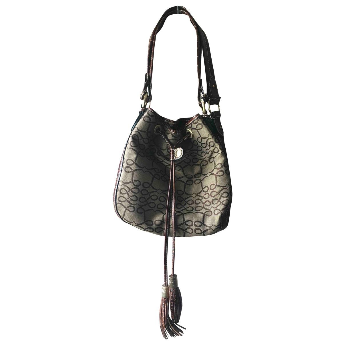 Lancel \N Brown Cloth handbag for Women \N