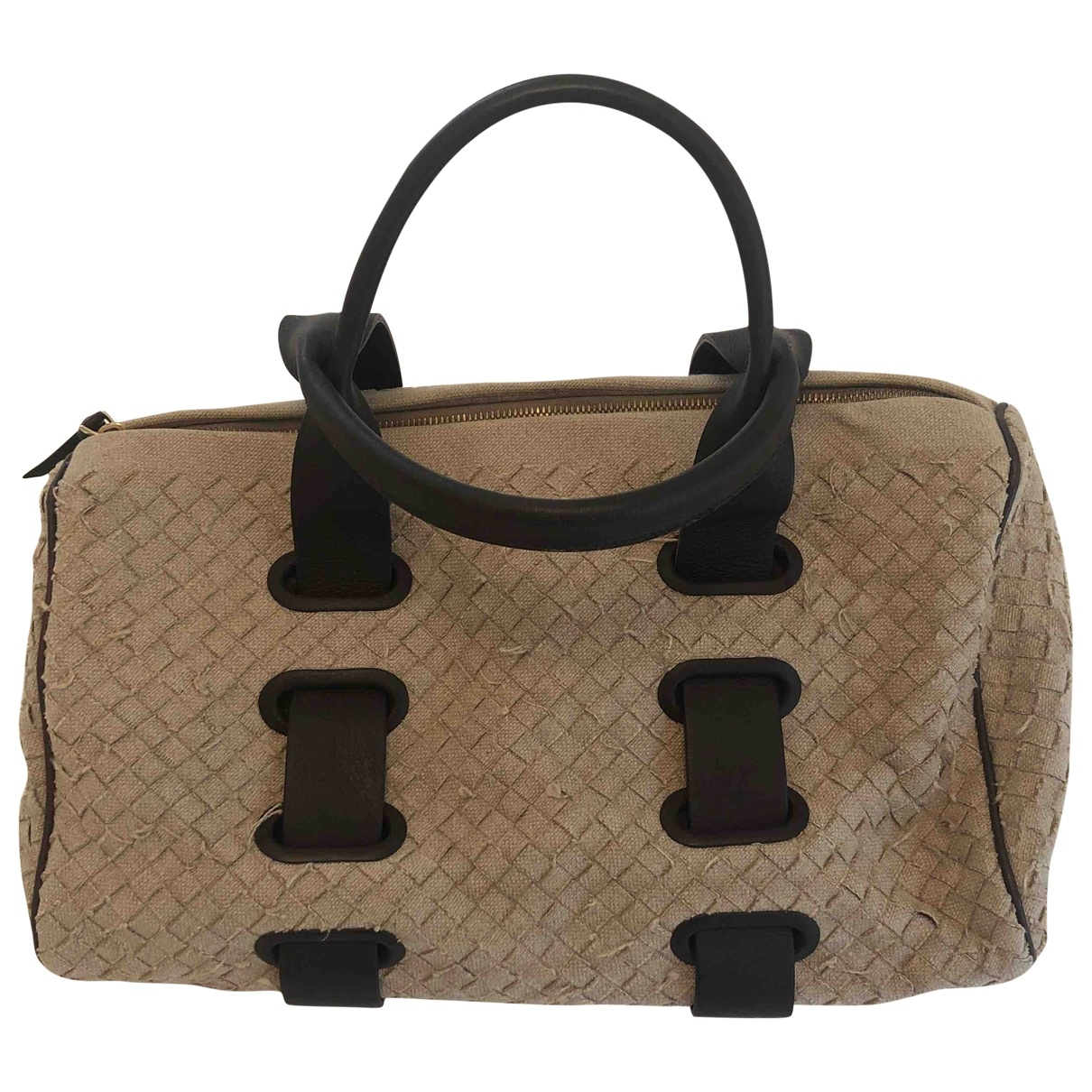 Bottega Veneta \N Beige Cloth handbag for Women \N