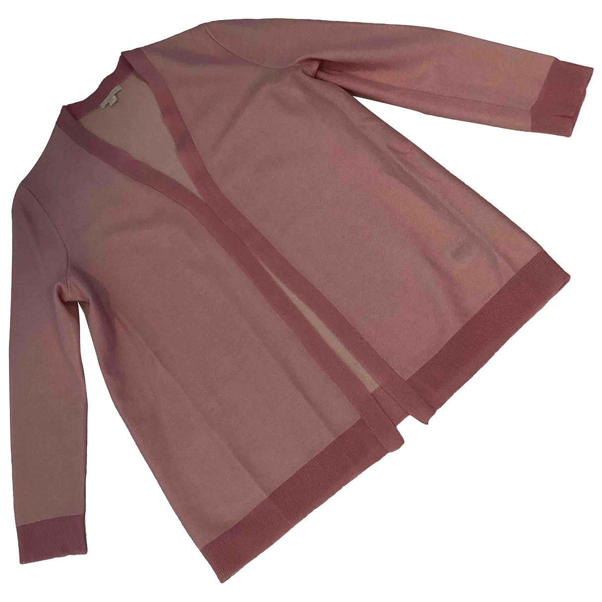 Cos \N Pink Cotton Knitwear for Women 38 FR