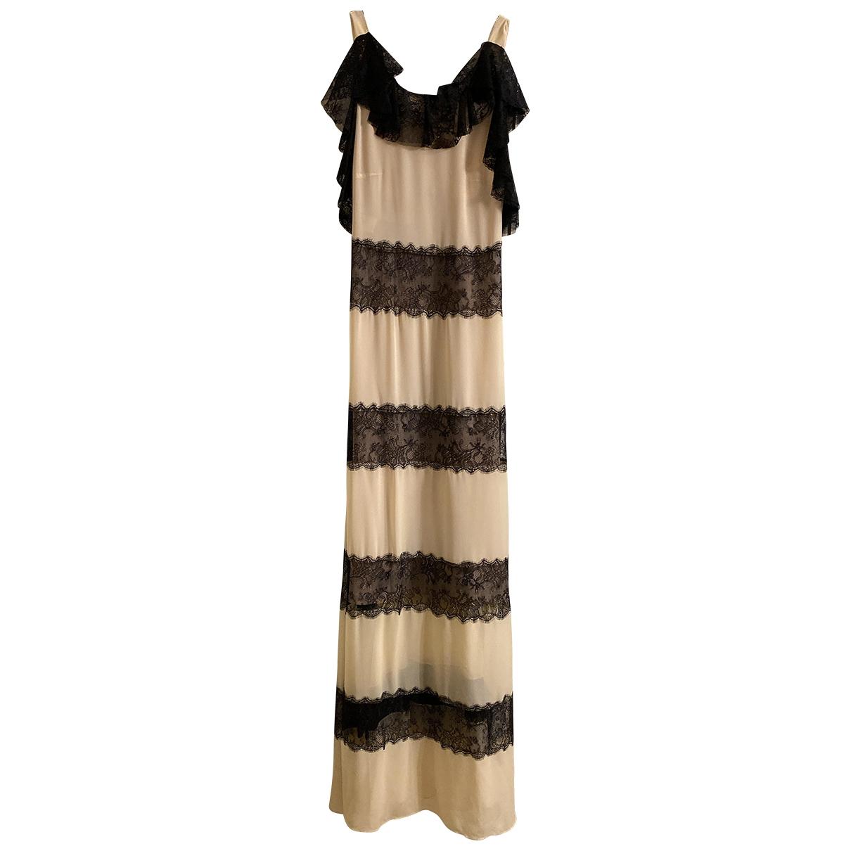 Philosophy Di Alberta Ferretti \N Beige Lace dress for Women 40 IT