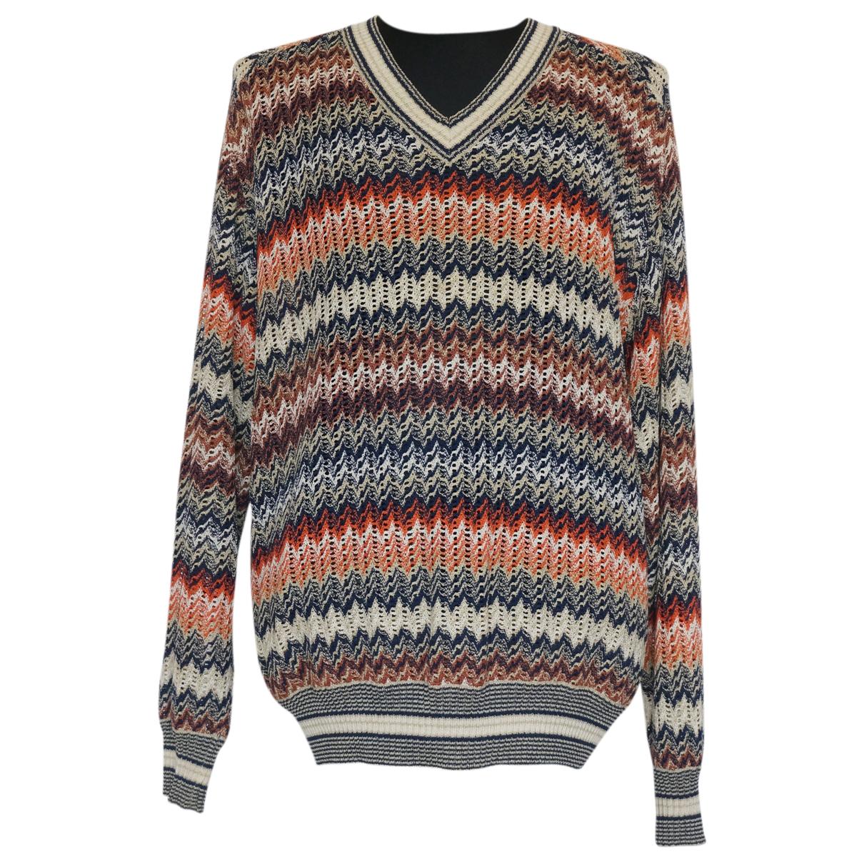 Missoni N Multicolour Linen Knitwear & Sweatshirts for Men 54 IT