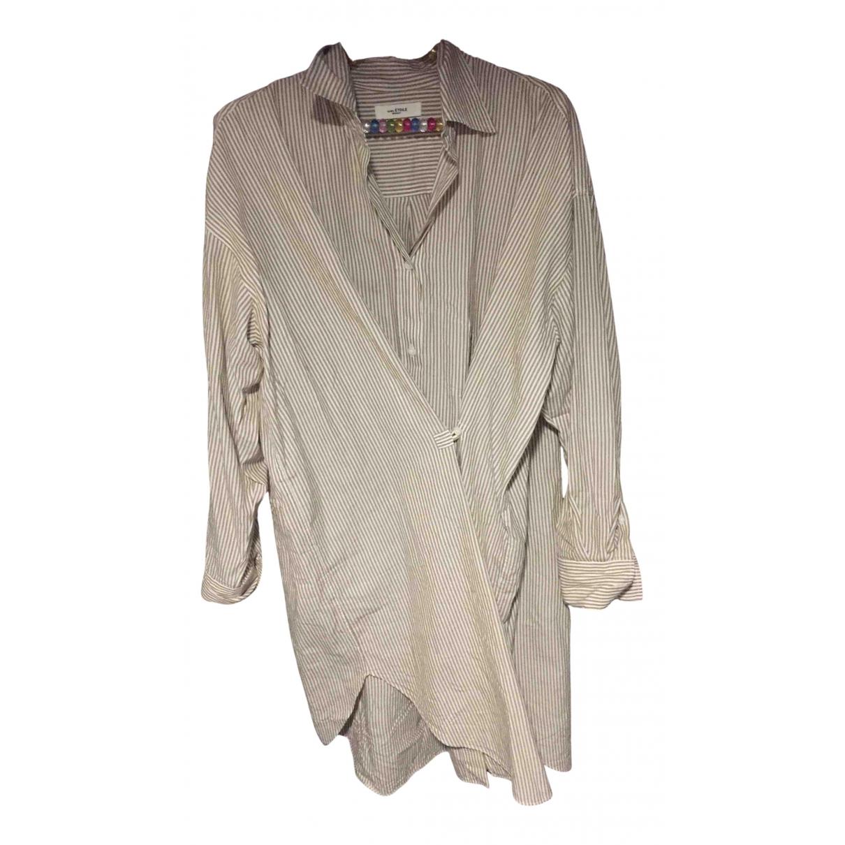 Isabel Marant N Camel Cotton dress for Women 38 FR