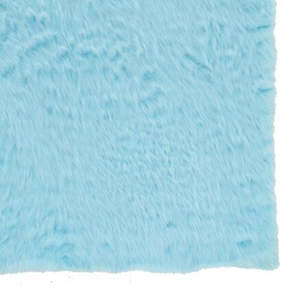 RUG-BLUESHEEP57 5 x 8 Rectangle Area Rug in