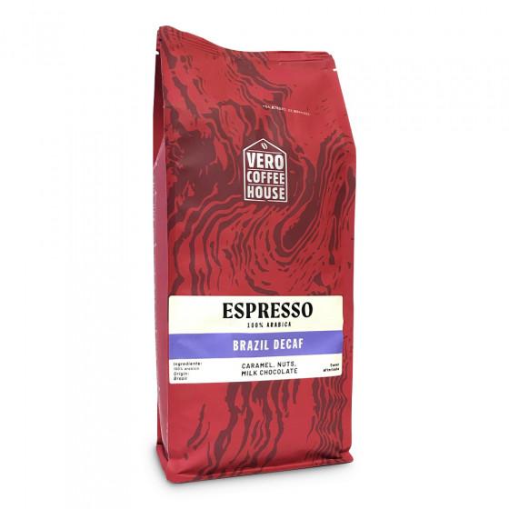 "Coffee beans Vero Coffee House ""Brazil Decaf"", 1 kg"
