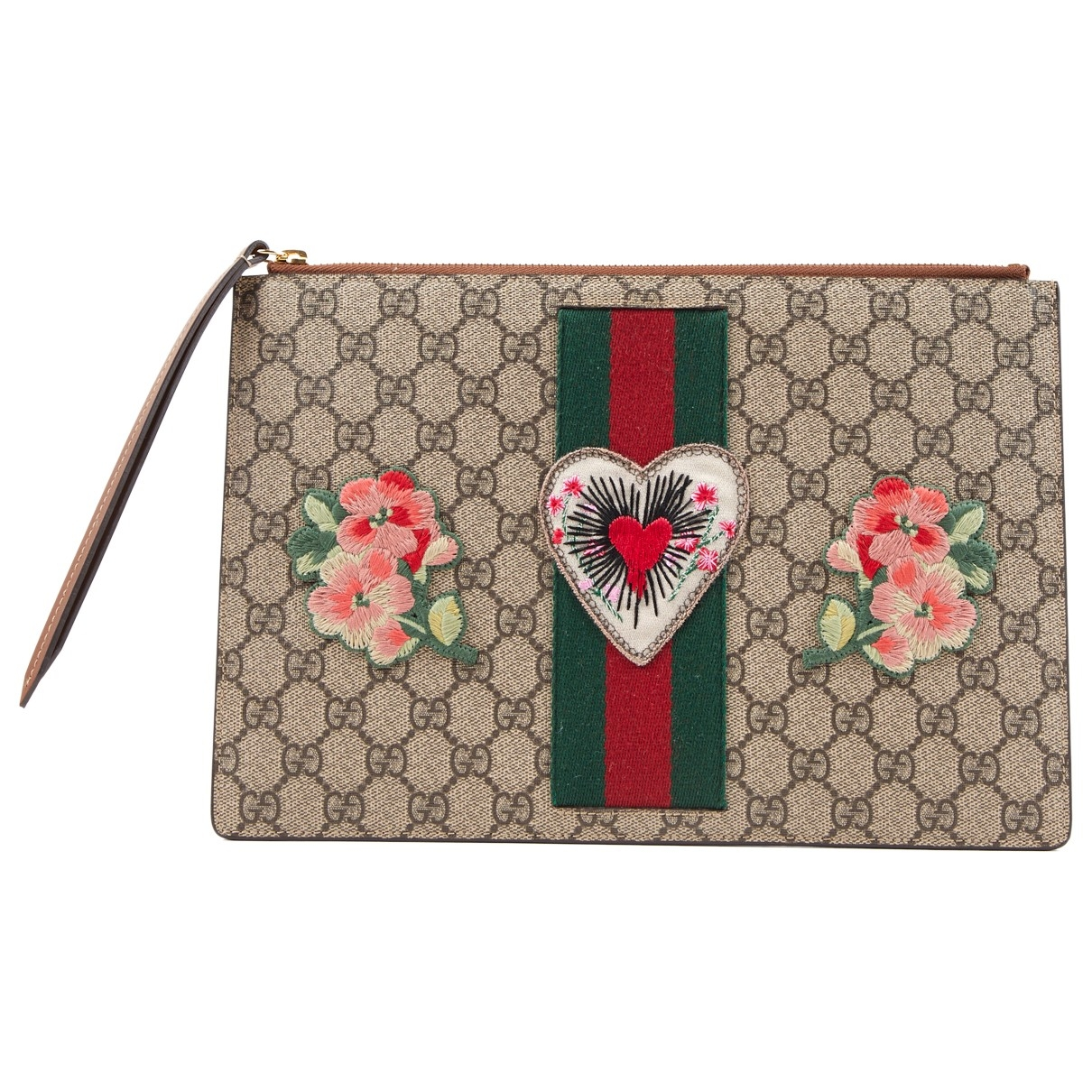 Gucci \N Brown Leather Clutch bag for Women \N