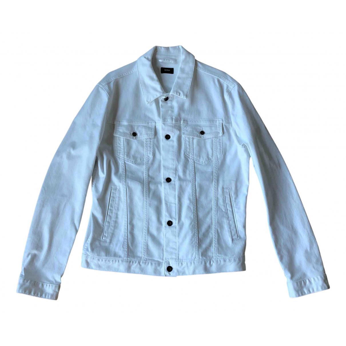 Boss N White Denim - Jeans jacket  for Men XL International