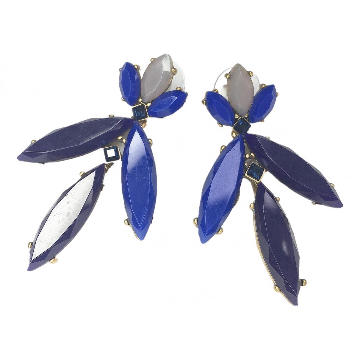Oscar De La Renta N Blue Earrings for Women N