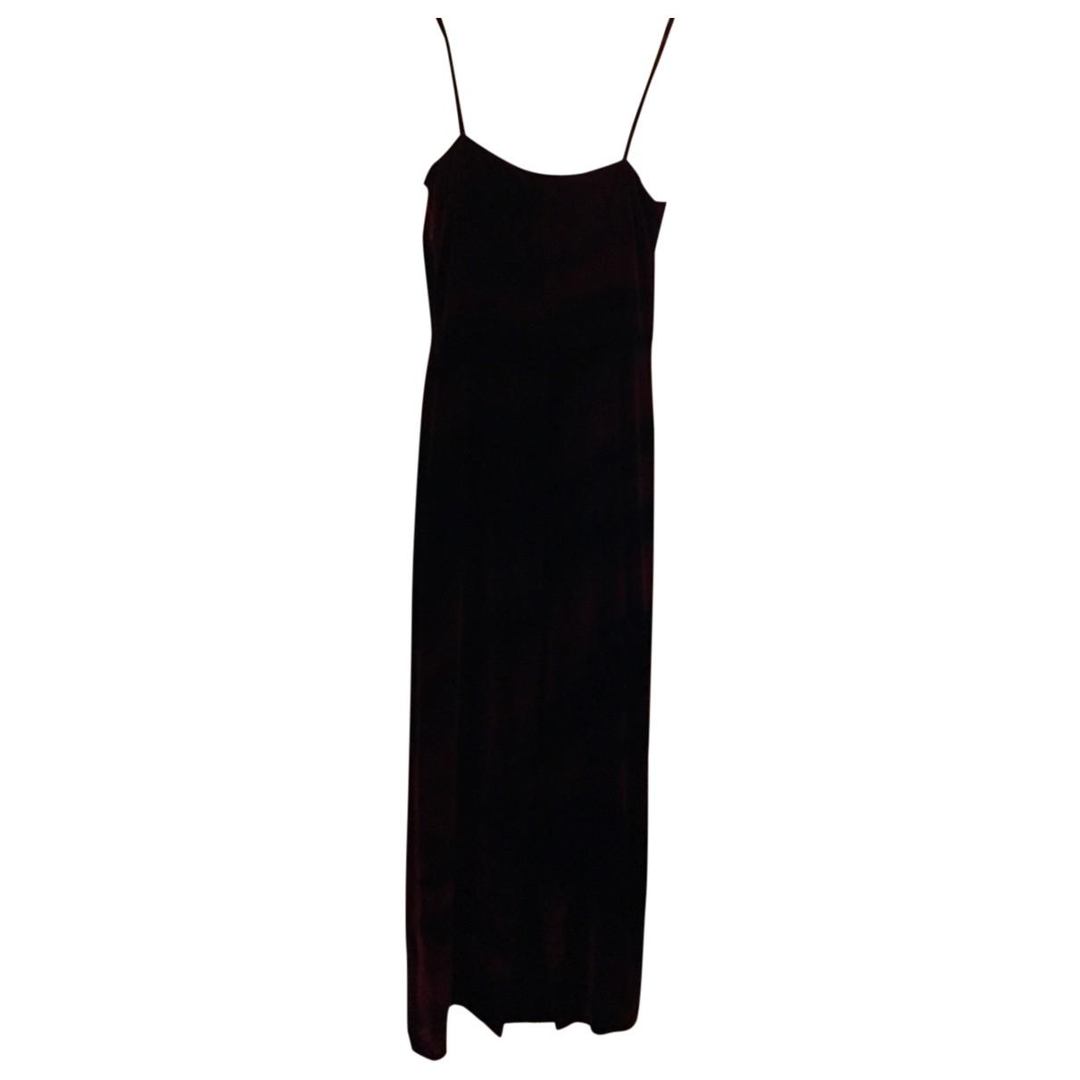 Roberto Cavalli \N Burgundy Velvet dress for Women S International