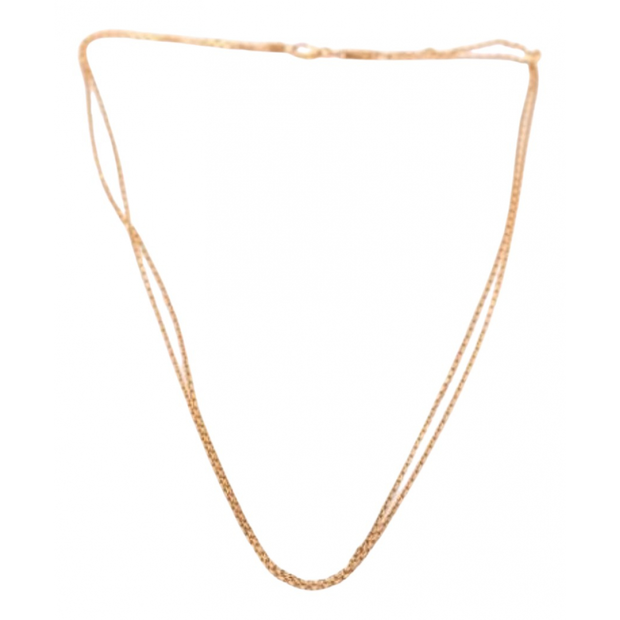 Chopard N Pink Pink gold necklace for Women N