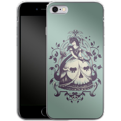 Apple iPhone 6s Silikon Handyhuelle - Mrs Death von Enkel Dika