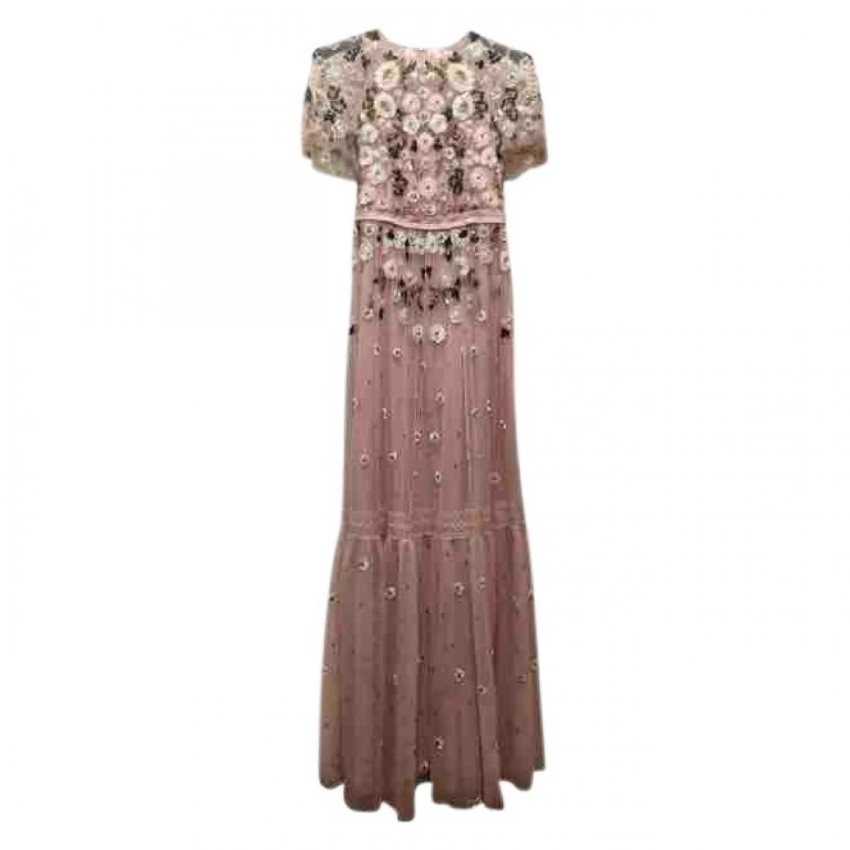 Needle & Thread - Robe   pour femme en coton - rose