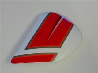 Arai RX-Q Spencer Red White BlueSide Pods