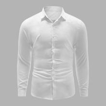Camisas  para hombre Boton delantero Liso Basico