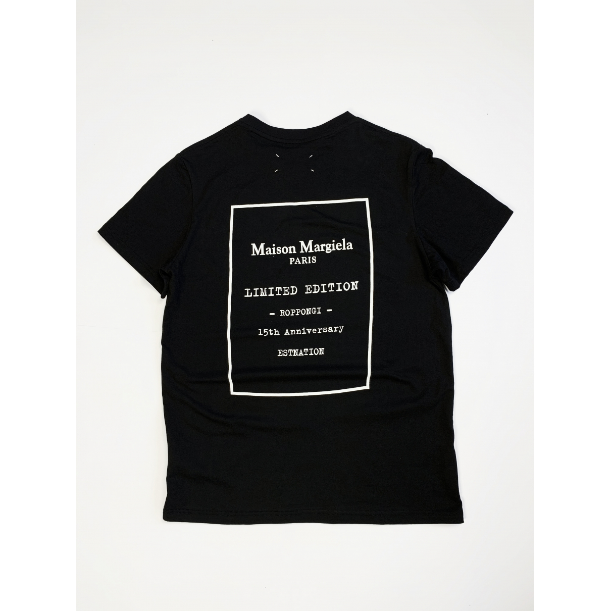Maison Martin Margiela N Black Cotton T-shirts for Men M International