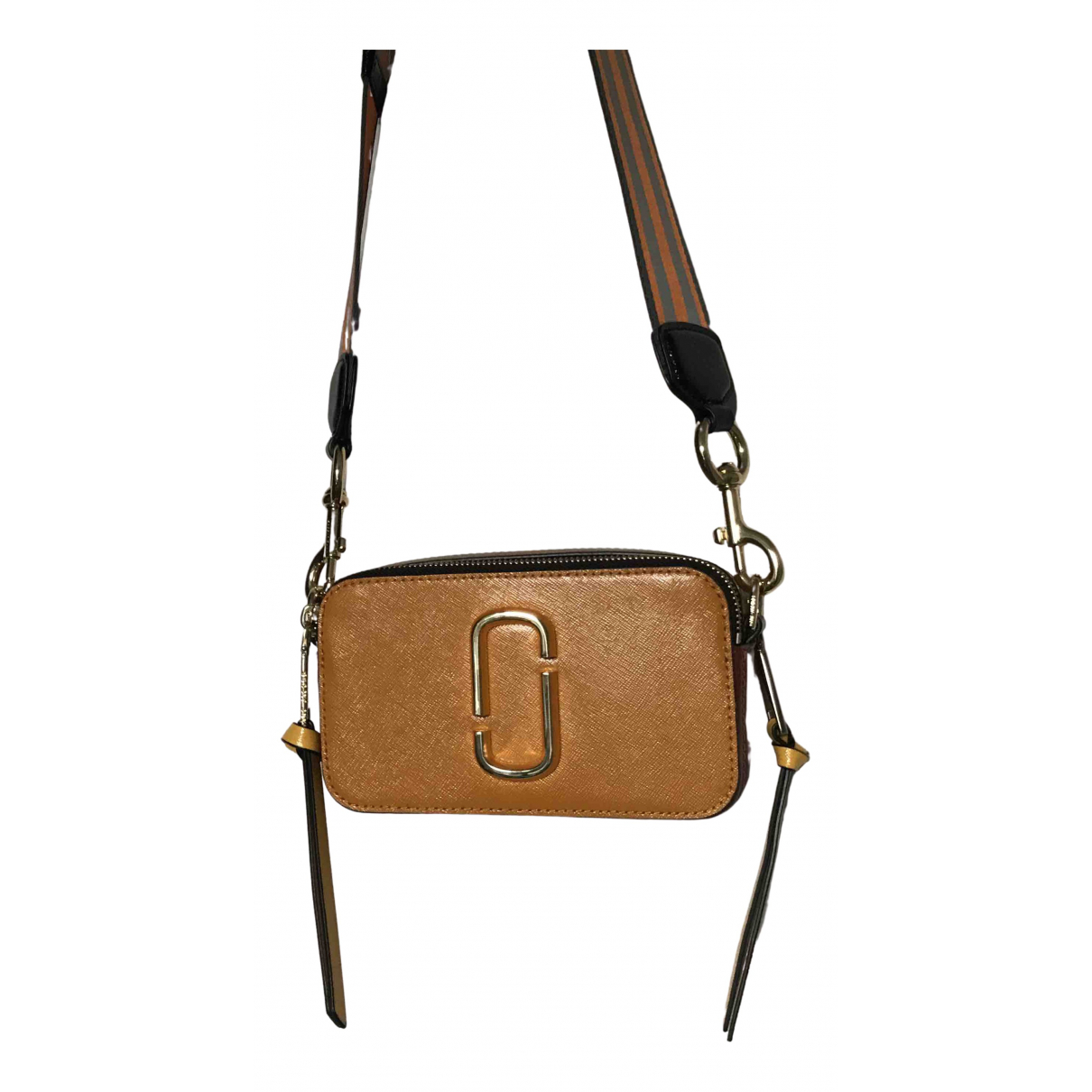 Marc Jacobs Snapshot Brown Leather handbag for Women N