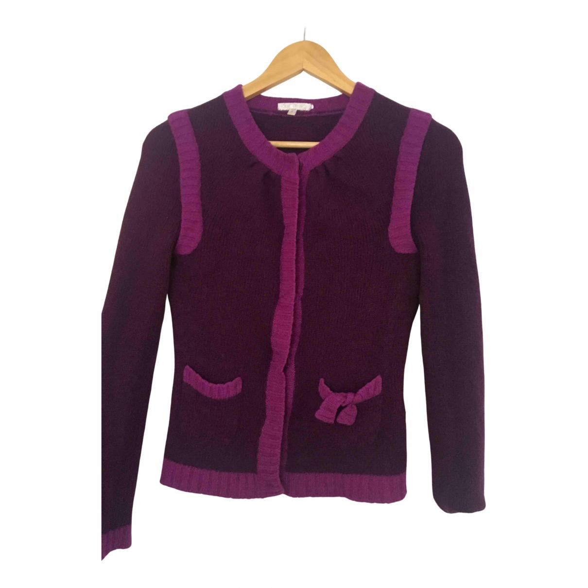 Paule Ka \N Burgundy Wool Knitwear for Women 36 FR