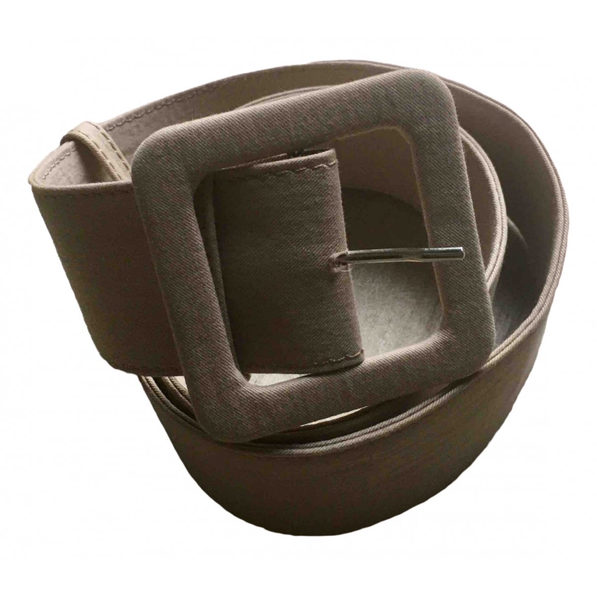 Marni \N Beige Cloth belt for Women M International