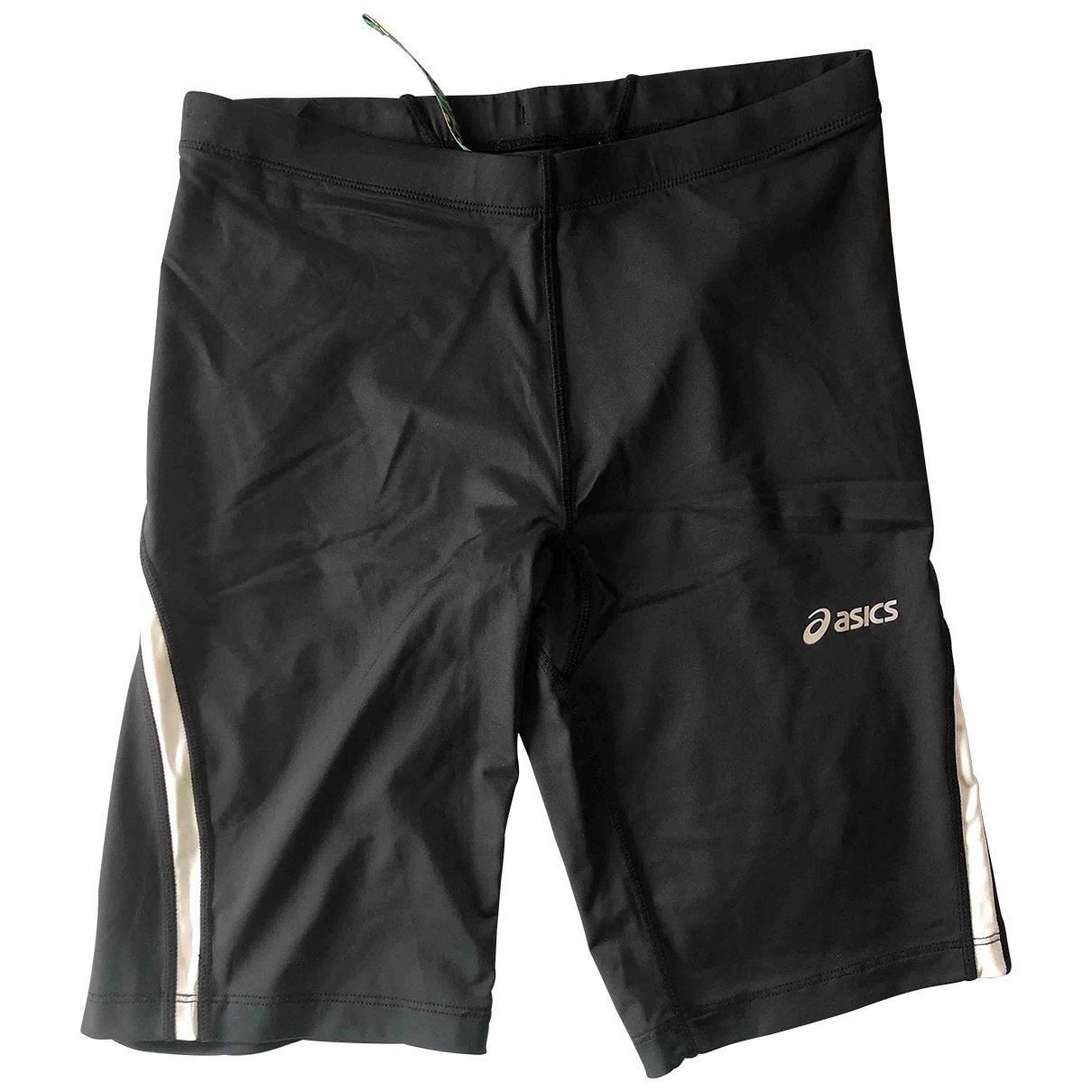 Asics \N Shorts in  Schwarz Synthetik
